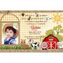 50 Convites Para Aniversario Infantil Tema Fazendinha