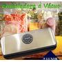 Seladora Embaladora Maquina Vácuo Alimentos+ Brinde 02 Rolos