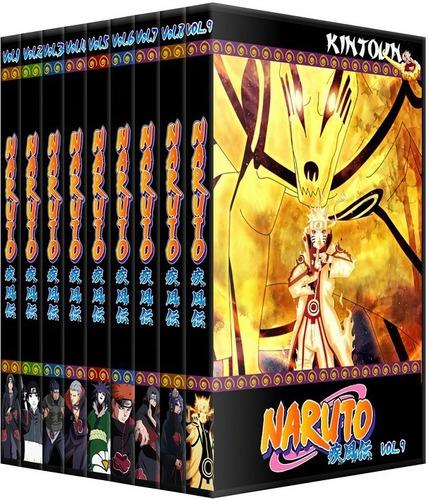 Dvds Naruto Shippuden Coleção Completa + Filmes