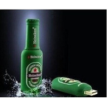 Pen Drive 8 Gb - Heineken E Chocolate M&m - Emborrachado