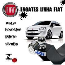 Engate Reboque Fiat Uno / Strada / Novo Uno / Punto / Palio