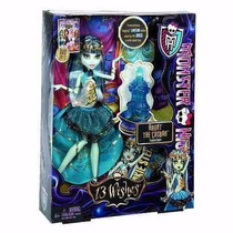 Boneca Monster High - 13 Wishes - Festa - Frankie Stein - Y7