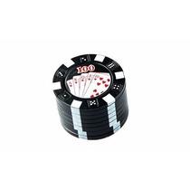 Dechavador Triturador De Ervas Finas E Temperos Poker