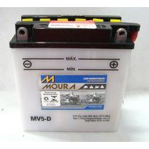 Bateria Moura Mv5-d & Yb5l-b Zig 100 Win 110 Jog 50 Xtz 125