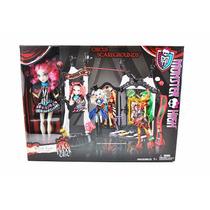 Monster High Casa Dos Horrores Boneca + Acessórios Mattel