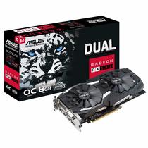 Placa De Video Asus Rx 580 8gb Oc Edition Dual-rx580-o8g
