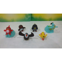 Kit 8 De Brinquedos Angry Birds Movie