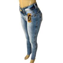 ecc9eafb9 Busca Calça jeans feminina cintura alta clara com os melhores preços ...