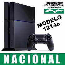 Playstation 4 500gb Ps4 Nacional Original + Garantia + Nfe