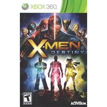 Manual De Instrucoes Xmen Destiny Xbox360 /original