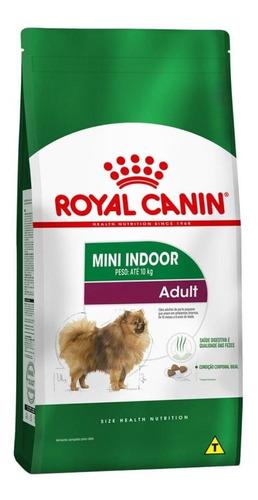 Ração Royal Canin Mini Indoor Adult Size Health Nutrition Cachorro Adulto Raça Pequena 7.5kg