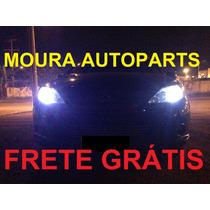 Kit Led Peugeot 206 207 Citroen C3 Meia Luz Placa Ré Leitura