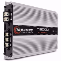 Módulo Amplificador Taramps T-500 D 1 Canal 500w Rms Grave