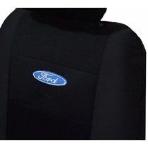 Capa Banco Carro Tecido Pano Ford Royale Fiesta Ka Courier