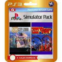 Sim City 2000 + Sim Theme Park (código Ps3)