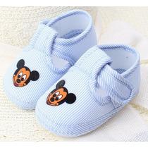 Sapatinho Mickey - Bebe - Menino- Recém Nascido Sapatinho