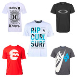 Kit 15 Camisa Camiseta Masculina Marca Estampada Top