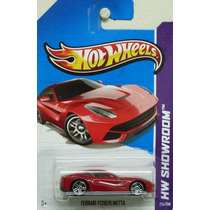 Hot Wheels 1:64 - Ferrari F12 Berlinetta, 2013