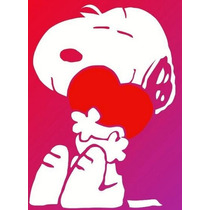 Adesivo Decorativo Carro Geladeira Notebook Snoopy