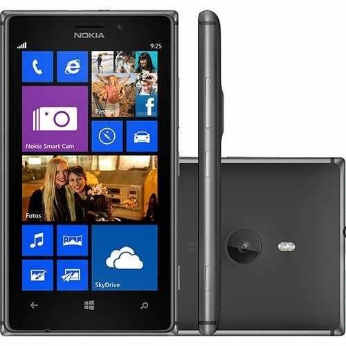 Smartphone Nokia Lumia 925 Windows 8 Wi - fi 4.5 16gb Vitrine