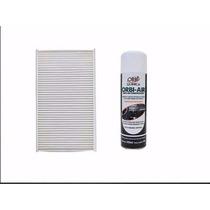 Filtro De Cabine + Higienizador Honda Fit E City