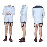 Par De Suspensórios Cinta Liga Masculino Segura Camisa R Xxi