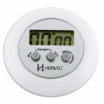 Timer Temporizador Digital Cronômetro Regressivo Herweg 3303