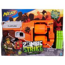 Lançador Nerf Zombie Strike Flipfury Hasbro