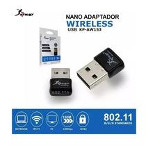Adaptador Receptor Wireless Usb Antena Interna - Kp-aw1 Novo