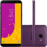 Celular Samsung J6 Galaxy Violeta 32gb Tela 5.6'' Tv Digital