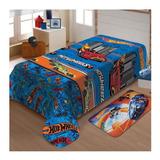 Cobertor Jolitex Ternille Manta Soft Solteiro Hot Wheels Turbo