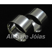 Alianças De Prata 950 10mm