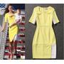 Vestido Igual Da Kate Middleton Amarelo