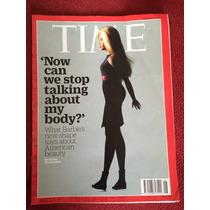 Revista Time Importada Boneca Barbie Seu Corpo Sua História