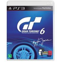 Jogo Gran Turismo 6 (gt6) Ps3 Com Cont Extra Ayrton Senna