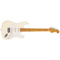 Guitarra Stratocaster Vintage Sx Sst 57 Vwh Branca Sst57