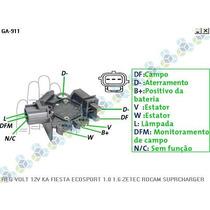 Regulador Voltagem Ford Escort Sw 1.6 Zetec Rocam - Gauss
