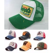 Boné Unisex Baseball Varios Modelos Trucker Qualidade