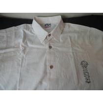 Camisa Calfin Casual Manga Curta Tam. M