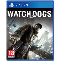 Watch Dogs Ps4 Orig Mídia Física Pronta Entrega+ Brinde