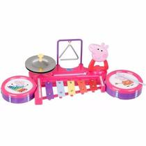 Peppa Pig Band Brinquedo Musical Station Infantil Multikids