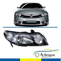 Farol Honda New Civic 2007 Até 2012 Direito Original