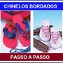 Chinelos E Sandálias Bordadas - Apostila Passo A Passo