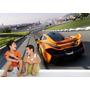 Adesivo Papel Parede Infantil Menino Carro Grand Turismo M06
