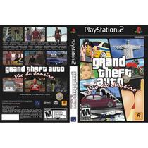 Patch Gta Rio De Janeiro 1 + Gta Rio 2 - Playstation 2 Ps2