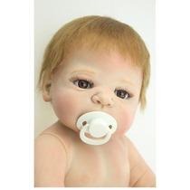 Bebê Reborn Menino De Silicone! Frete Grátis!