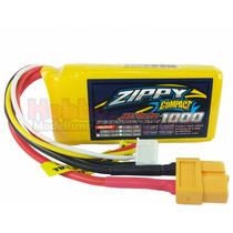 Bateria Lipo 1000mah 3s 25c 11.1v Zippy Compact