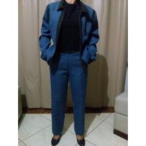 Conjunto Social Feminino Blazer E Calça Yepi Fashion