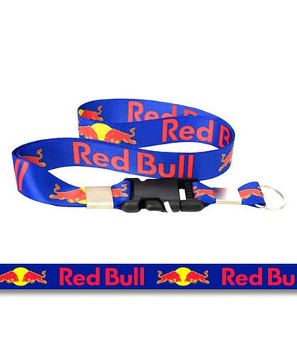 94c3b4b347729 Chaveiro Cordao Com Fecho Red Bull Azul vermelho