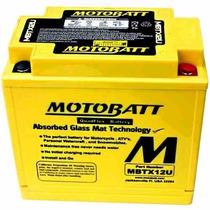 Bateria Motobatt Mbtx12u - Harley Davidson - Bmw F 800 Gs
